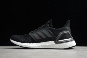 adidas Ultraboost 20 Consortium Black White Trainers For Sale