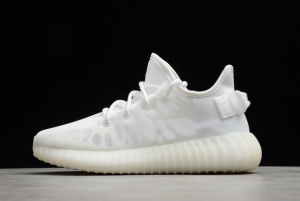 adidas Yeezy Boost 350 V2 Mono White Outlet Factory GW2871