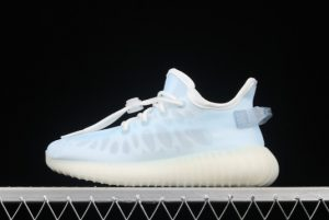 Kids adidas Yeezy Boost 350 V2 Mono Ice Outlet Factory GW2869