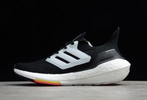 adidas Ultra Boost 2021 Black White Volt Yellow Online Store FY0356