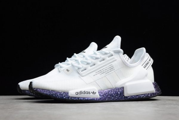 New adidas NMD R1 V2 White Speckled Online Store GX5163-2