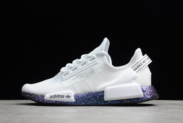 New adidas NMD R1 V2 White Speckled Online Store GX5163