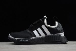 Adidas NMD R1 Boost Core Black Cloud White Outlet Sale FV8729