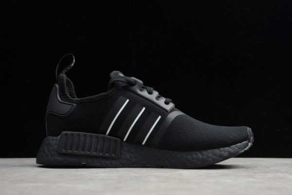 adidas NMD R1 Shoes Black White Online Store FV8726-1
