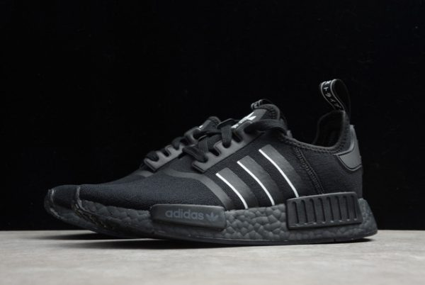 adidas NMD R1 Shoes Black White Online Store FV8726-2