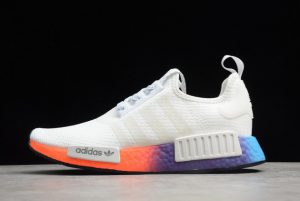 adidas NMD_R1 White/Multi-Color For Cheap B8302