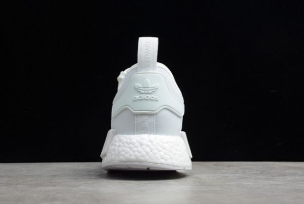 2021 adidas NMD R1 Cloud White Grey Outlet Factory FV9384-4