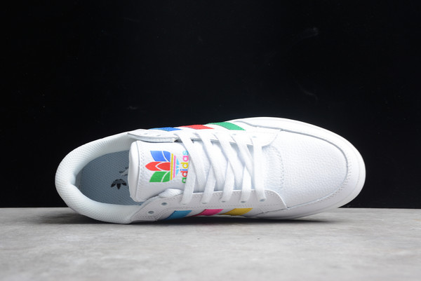 2021 Discount adidas Hardcourt Low White Multi-Color FGX0622-3