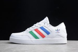 2021 Discount adidas Hardcourt Low White Multi-Color FGX0622