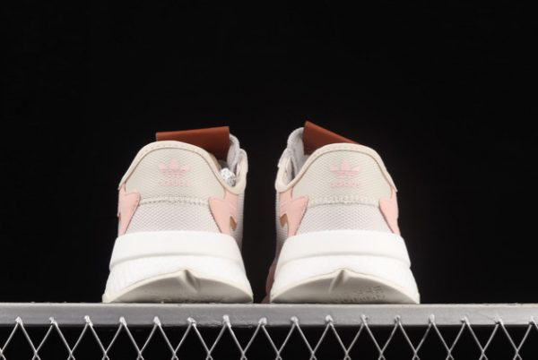 adidas Nite Jogger Boost Grey Pink Brown New Release H01734-3