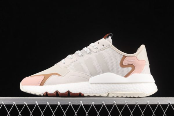adidas Nite Jogger Boost Grey Pink Brown New Release H01734