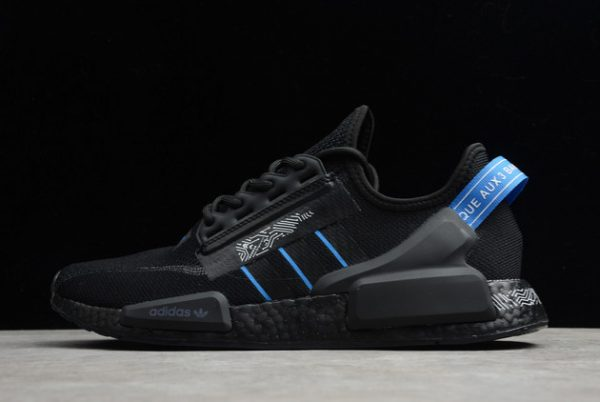 adidas NMD R1 Shoes V2 Circuit Board Black Blue For Sale FY1483
