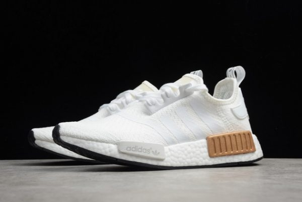 adidas NMD R1 Wmns Metallic Plugs Cloud White For Sale EE5173-2