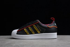 adidas Superstar CNY Chinese New Year Black Gold Red Sale S24184