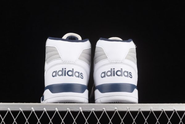 Cheap adidas Entrap Mid Cloud White/Collegiate Navy-Vivid Red FY6621-3