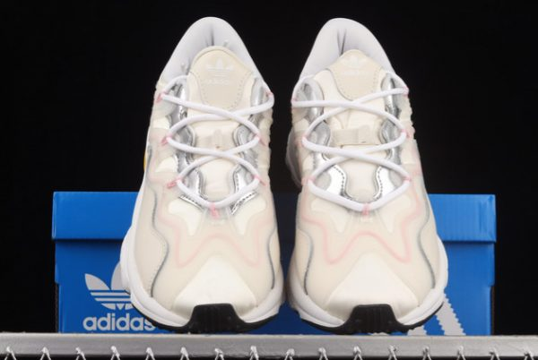 New adidas Ozweego 3.0 Beige Silver-Pink Outlet Sale G55586-2