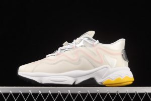 New adidas Ozweego 3.0 Beige Silver-Pink Outlet Sale G55586